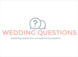 Top Wedding Questions