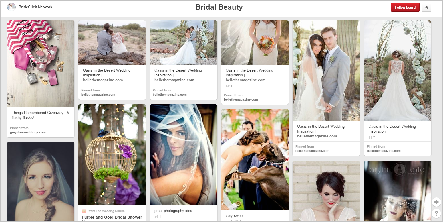 brideclick wedding pinterest